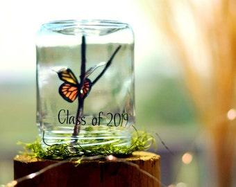 Class of 2019 | Gifts for teen girls | Teen girl Christmas gifts | High school graduation gift | Graduation centerpieces | Paper butterfly