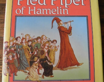 The Pied Piper of Hamelin by Robert Browning 1986