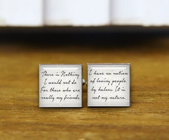 books cufflinks, lover gifts, custom your text or proofs, custom personalized wedding cuff links, custom round, square cufflinks, tie clips