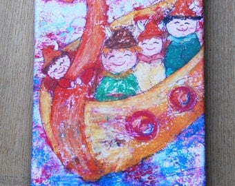 Canvas print: Viking