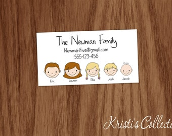 family business card