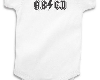 Abcd Baby Onesie