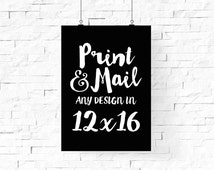 12x16 Print, Poster Printing Service, Pick Any Design From I Love Printable Shop, Custom Printing, Ship Worldwide, Archival Matte Paper