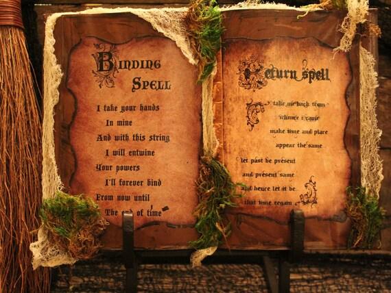 spell books creepy halloween - photo #25