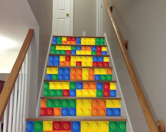 Tile   Wall   Stair Decal   Stair Riser   Stairway   Staircase Decals    Stair