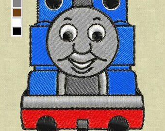 "Embroidery design Thomas The Train 4x4"" digital pes hus jef"