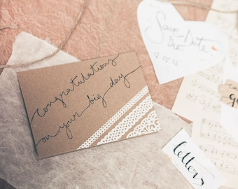 Congratulations On Your Big Day Card