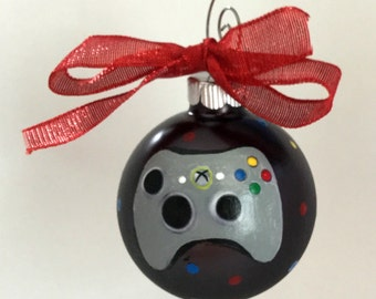 Personalized Game Controller Christmas Ornament - XBox Game Controller Ornament - Christmas Ornament for Gamer