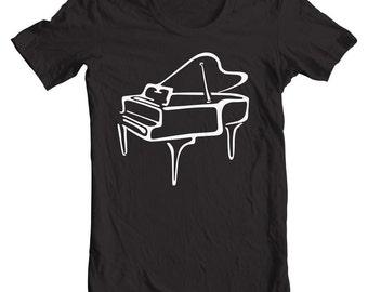 Piano Gifts Music Art T shirts. Musician Gifts. Music Decor. Learn Piano. Music Bag. Piano Keys. Music Shirts. Piano T shirts.