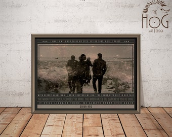 Sigur Rós Poster - Quote Retro Music Poster - Music Print, Wall Art