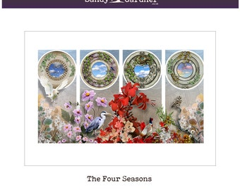 The Four Seasons -  by Sandy Gardner
