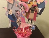 Party Centerpiece - Mulan theme-We can do ANY theme!