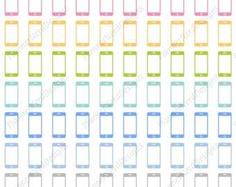 90 Cell Phone Icon Stickers