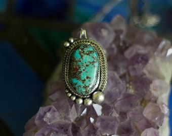 CLEARANCE  Turquoise Pendant