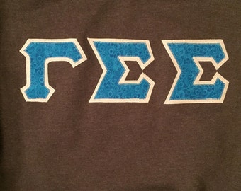 Made to Order Greek Letter Shirts