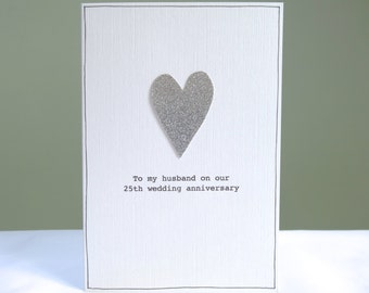 Ruby Wedding Anniversary Card Personalised Cards