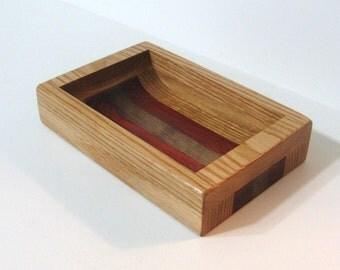 Dresser Valet Made of Three Woods