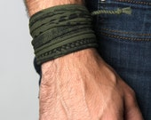 Mens Jewelry, Mens Bracelet, Wrap Bracelet, For Him, Bracelets, Men Bracelet, Bracelet For Men, Bracelets For Men, Gift For Him, Gift Ideas