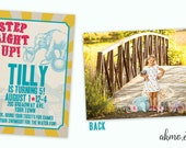 Custom Birthday Invite Digital File - Custom Design