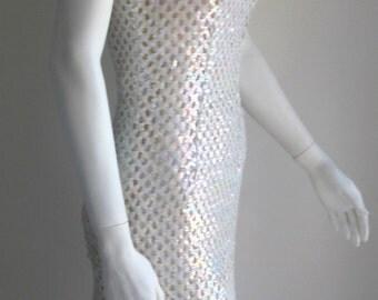 50s 60s vtg handsewn dress