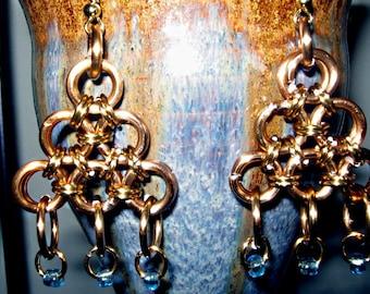 Grecian Maille Earrings