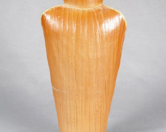 Tall Studio Pottery, Shouldered Slab Built Vase, Mystery Maker, Chris Gustin?, signed
