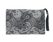 Storage Wristlet Printed Screen Fabric Handmade Thailand (BG7151-1C12)