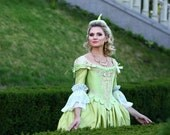 Marie Antoinette 18th Century gown rococo wedding costume Made to order