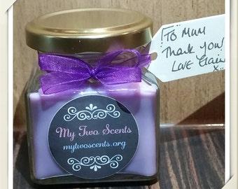 Black Cherry & Vanilla Jar Candle