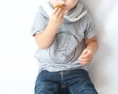 Peace Sign Vicarious Clothing Logo Kids Shirt - Two Fingers - Boys or Girls Peace Sign Tee Shirt - Baby & Toddler - I'm This Many