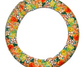 Steering Wheel Cover Tropical Yellow-Car Accessory for Women-Cute Car Decor-Steer Wheel Cover