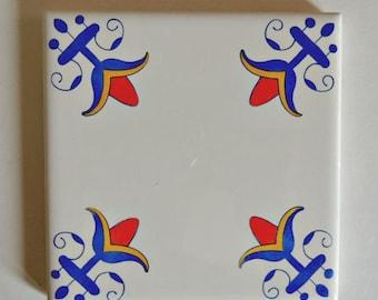 Delft Tiles Blue and White Tiles Delft Blue Delft Style Tiles