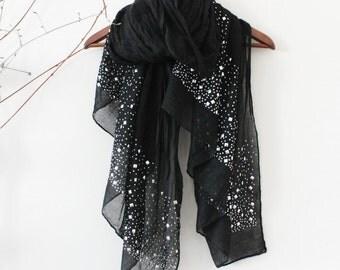 Black Shawls screen, Big size black shawl, Black turban, Black organic fabric shawl, Cotton shawl black, Black women shawls, Black Scarves