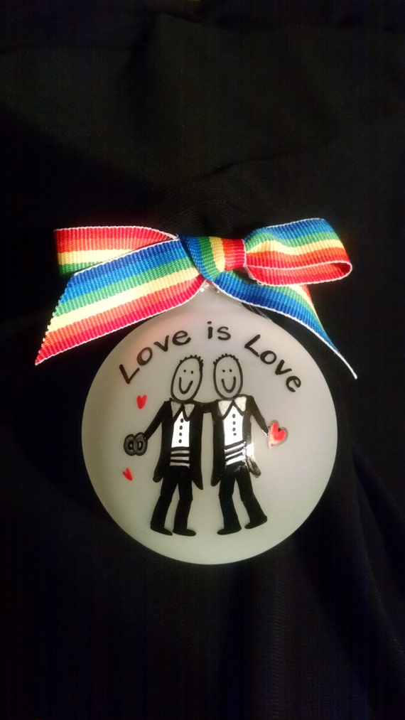 Wedding Shower Gift Ideas For Gay Couple : gift ,gay wedding shower gift, ornament,Mr and Mr,gay bridal gift, gay ...