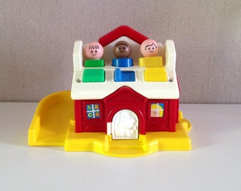 FISHER PRICE Shape Sorter - Vintage Fisher Price toys - 1989s