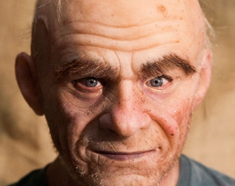 """NEW Hand Made, Pro Silicone Mask Old Man """"Frank"""" High Quality, Unique"""