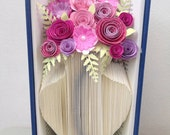 Book Folding Pattern - Vase - Flower Vase + Free Tutorial