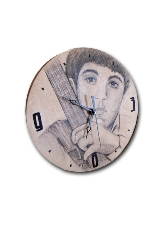 Items similar to on sale clock mccartney clock Unusual clocks for sale