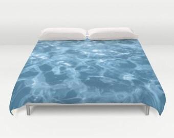 paume housse de couette avec palmier et planche de surf. Black Bedroom Furniture Sets. Home Design Ideas
