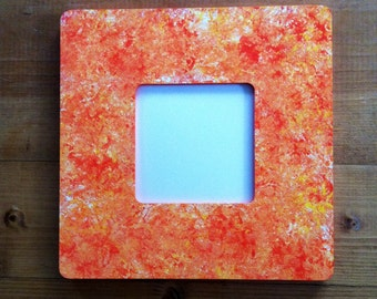 Speckled Instagram-Size Square Hand Painted Picture Frame