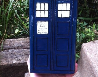 Doctor Who Tardis Cookie Jar/Cannister