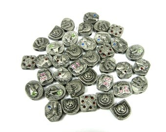 Western Metal Beads (37pc)