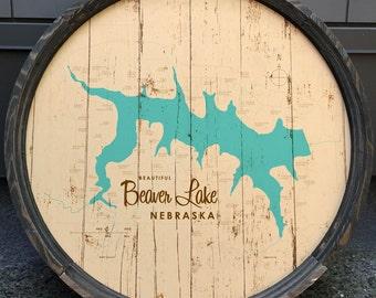 Beaver Lake, NE Barrel End