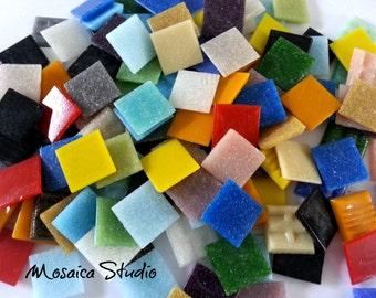 Vitreous Tiles - 20x20mm Rainbow x 150pc