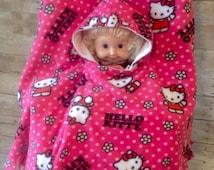 Hello Kitty Toddler Car Seat Poncho
