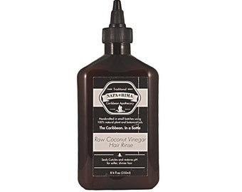 Raw Coconut Vinegar Rinse
