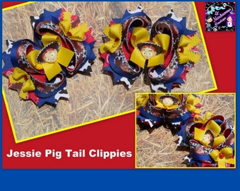 Jesse Pig Tail Clippies