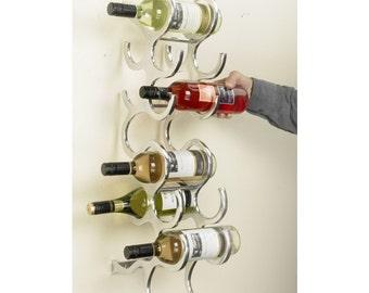 Le Mode Wall mounted wine rack
