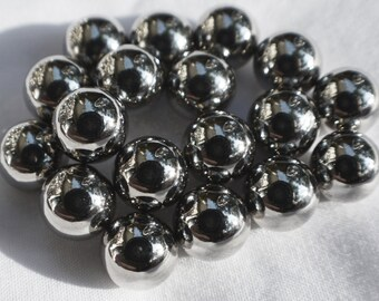 "10mm (13/32"") round spheres / balls- 15 / 25 / 50 / 100 / 250 pcs STRONG MAGNETS - N35 Neodymium - rare Earth (8)"