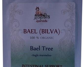 Bael (Bilva) Powder - 100g (USDA Certified Organic) - Gopala Ayurveda